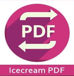 برنامج Icecream PDF Converter