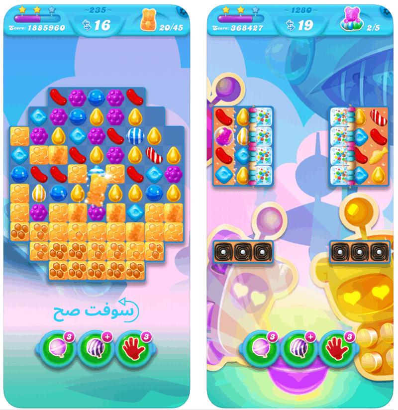 لعبة Candy Crush Soda Saga