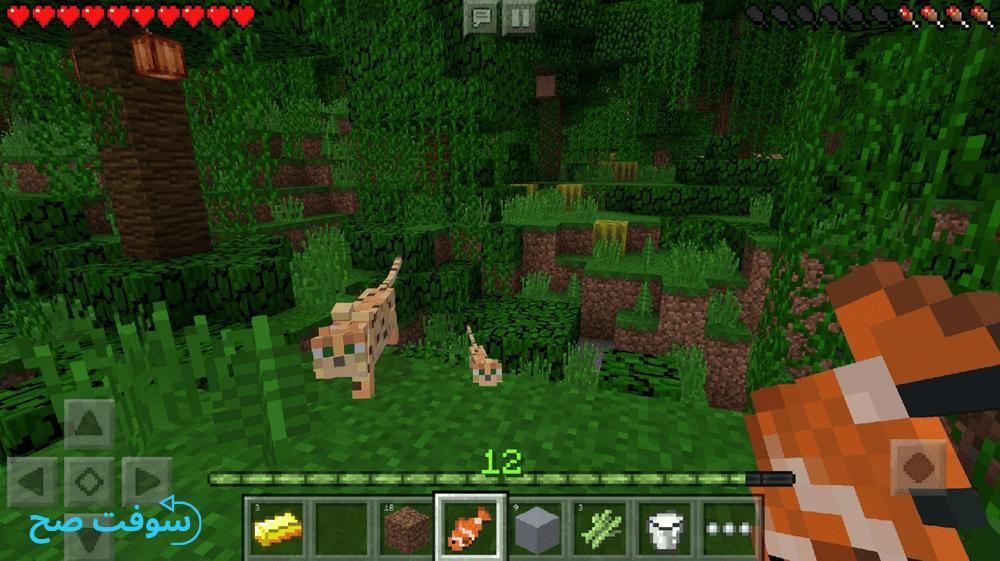 تحميل Minecraft 1.14 لعبة ماين كرافت للموبايل