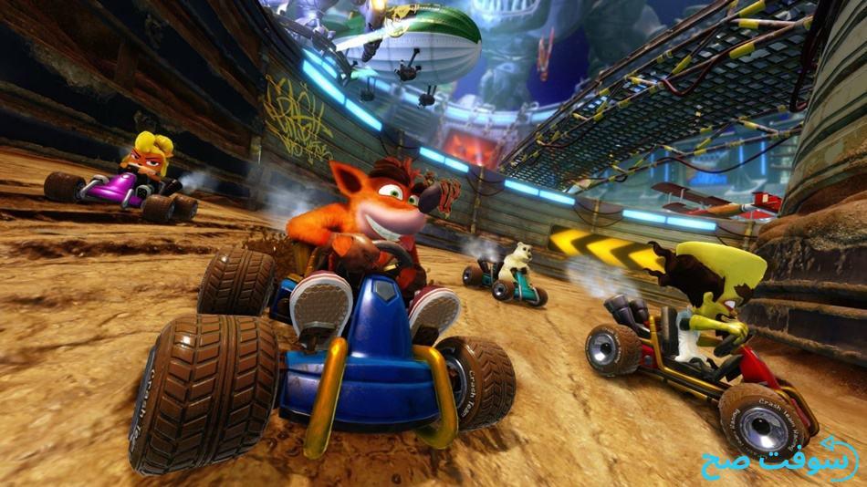 لعبة Crash Team Racing