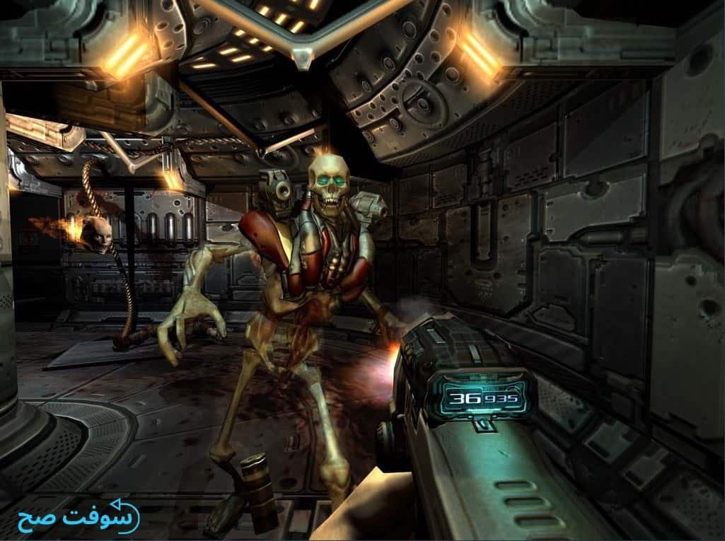 تحميل لعبة Doom 3 دووم 3