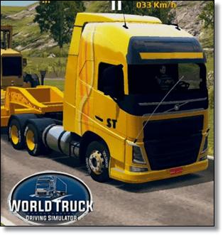 تحميل لعبة world truck driving simulator